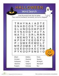 146 best halloween printables worksheets images on pinterest
