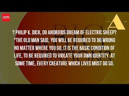 do androids of electric sheep audiobook do androids of electric sheep quote