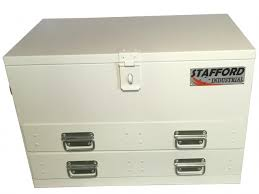 welding cabinet with drawers stafford steel fabricated industrial 2 drawer heavy duty ute tool