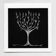 tree of menorah smith designs christmas and chanukah cards