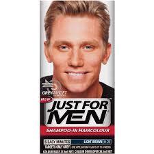 Hair Color Light Brown Buy Just For Men Hair Colour Natural Light Brown Online At Chemist