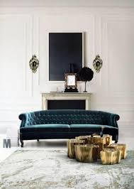 deep blue velvet sofa captivating velvet sofa designs rilane