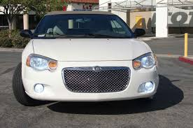 chrysler sebring chrome bentley mesh grille full replacement trim