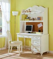 Girls White Desk With Hutch by Beadboard Space Saving Desk Hutch Chestnut Desks And Desk Hutch