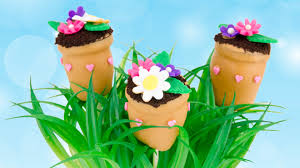 flower pot cake pops for mother u0027s day from cookies cupcakes and