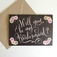 will you be my bridesmaid card will you be my bridesmaid card by project pretty