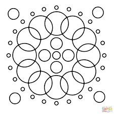 circle mandalas coloring pages free coloring pages