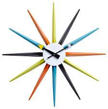 Modern Wall Clock Decorative Modern Wall Clocks Contemporaryhome Design Styling