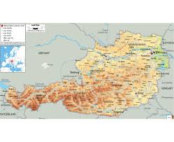 Map Of Germany Cities by Maps Of Austria Detailed Map Of Austria In English Tourist Map