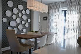 photos property brothers hgtv artistic midcentury modern dining room with wallpaper plate wall and tall back head dining chair