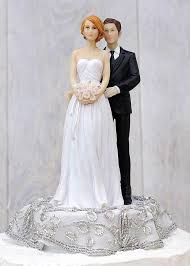 custom wedding cake toppers and groom embroidered silver and groom wedding cake topper wedding