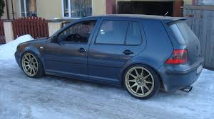 volkswagen golf custom vwvortex com mk4 wheel offset and stance picture index