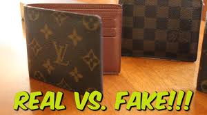 how to spot a real fake louis vuitton wallet youtube