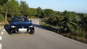 mazda country mazda mx 5 rf in machine grey driving in the country automototv