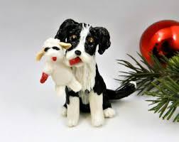 australian shepherd ornament herding dog breeds the magic sleigh