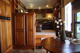 5th wheel with living room in front 5th wheel with a front living room at hershey rv show rv s