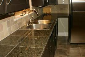 Tile Kitchen Countertop Designs Tiled Kitchen Countertops Ideas Zach Hooper Photo The Artistic