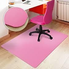 Mat For Under Desk Chair Amazon Com Chair Mat For Hard Floors Polypropylene Chair Floor