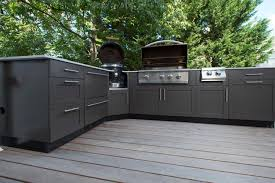 outdoor kitchen furniture modern concept mid sized stainless steel outdoor kitchen cabinets