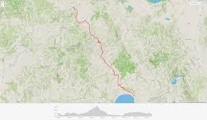 Montepulciano Italy Map by Ciclovia Francigena U2013 Day 7 U2013 Bolsena U2013 Formello U2013 Italy