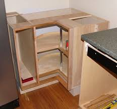 lazy susan cabinet hardware corner lazy susan cabinet installed pete brown s 10rem net