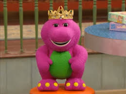image king barney doll the princess and the frog hq png barney