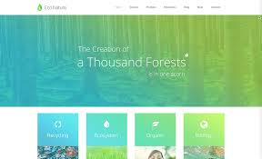 Website Color Schemes 2016 15 Green Eco Friendly Wordpress Themes For Green Organic Eco
