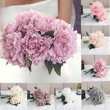 fleur artificielle mariage aliexpress buy artificial peony bouquet flower hydrangea