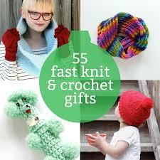 crocheted christmas 55 last minute knit crochet gift ideas
