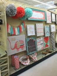 mint u0026 coral decorations hobby lobby j u0027s nursery room