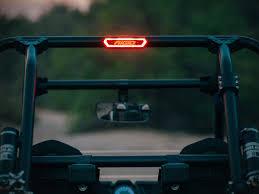 rear race light bar chase amber white black rigid industries