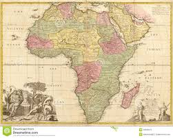 Map Of Ancient Africa by Ancient Map Of Africa Royalty Free Stock Photo Image 22808275