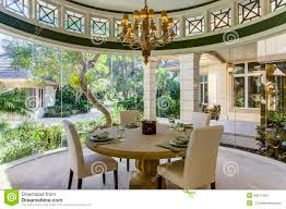 florida luxury home formal dining room stock photo image 46371424