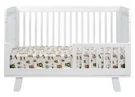 Hudson 3 In 1 Convertible Crib With Toddler Rail Babyletto Hudson 3 In 1 Convertible Crib Eggy