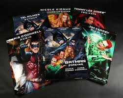 batman forever 1995 character one sheets current price 45