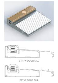 Patio Door Sill Inswing And Outswing Door Sills Gpi Millworks