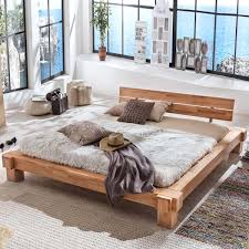 Schlafzimmer Bett 160x200 Kopervik 160x200 In Kernbuche Massiv Geölt
