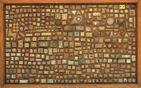unique akan gold weight collection wall hanging other antique