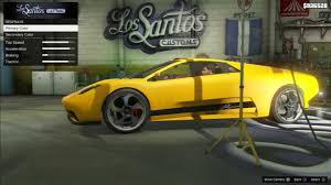 Lamborghini Murcielago Colors - gta 5 infernus