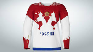 nike unveils russian national team hockey jersey for winter 2014