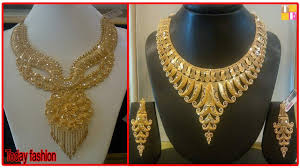 fashion design necklace images Latest light weight gold necklace designs with weight today jpg