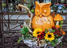 free images flower statue color autumn holiday colorful