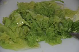 cuisiner un chou vert langouste chou