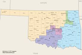 us house of representatives district map for arkansas oklahoma s congressional districts