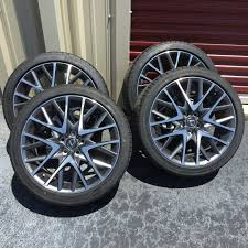 lexus is300 rims and tires ca 2015 rc 350 f sport 19