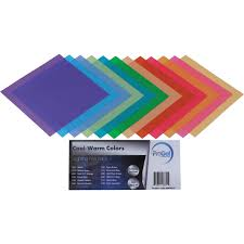 warm blue color pro gel cool warm colors filter pack 12 x 12