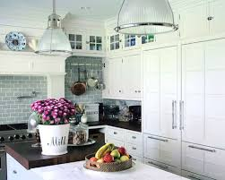 White Backsplash For Kitchen by Tile Backsplash And White Cabinets Houzz