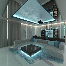 home cinema interior design in the country house design projects