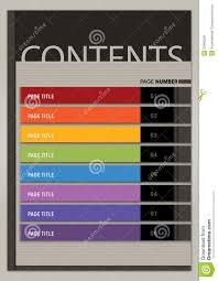 content page layout boxy modern style royalty free stock images