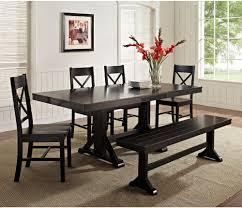 black dining room table with leaf amazing black dining table set sorrentos bistro home